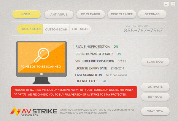 AVStrike Serial Key Full Version