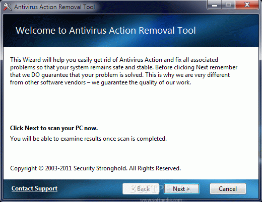 Antivirus Action Removal Tool Crack Plus License Key