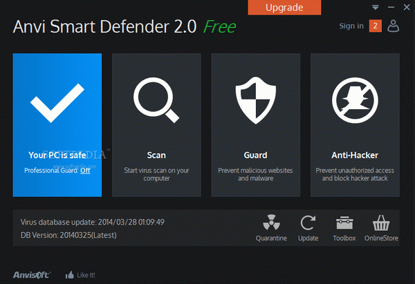 Anvi Smart Defender Crack & Serial Number