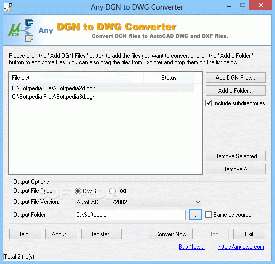 Any DGN to DWG Converter + Crack Keygen Serial Download
