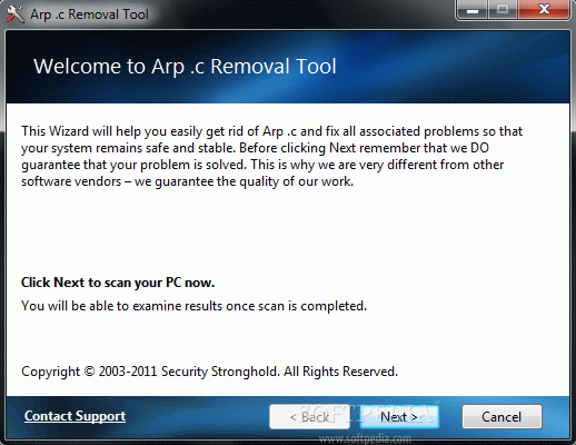 Arp .c Removal Tool