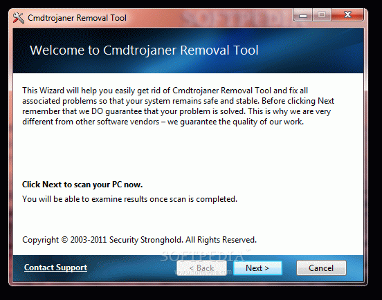 Cmdtrojaner Removal Tool Crack + License Key