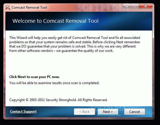 Comcast Removal Tool Crack Plus Activator