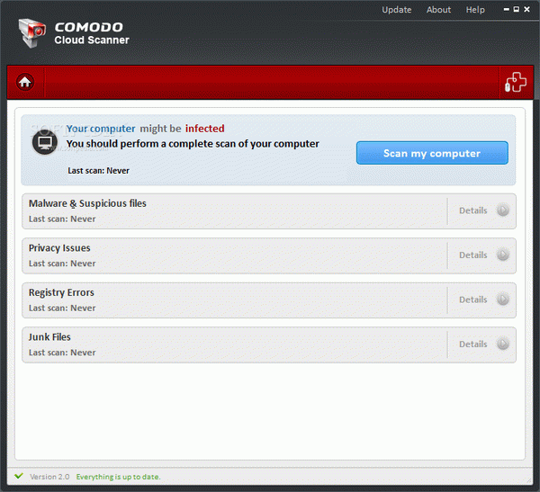 COMODO Cloud Scanner