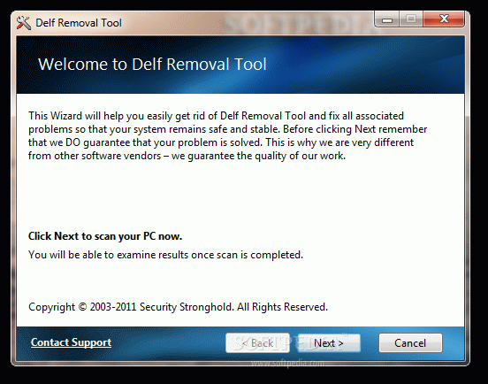 Delf Removal Tool Crack + Activation Code