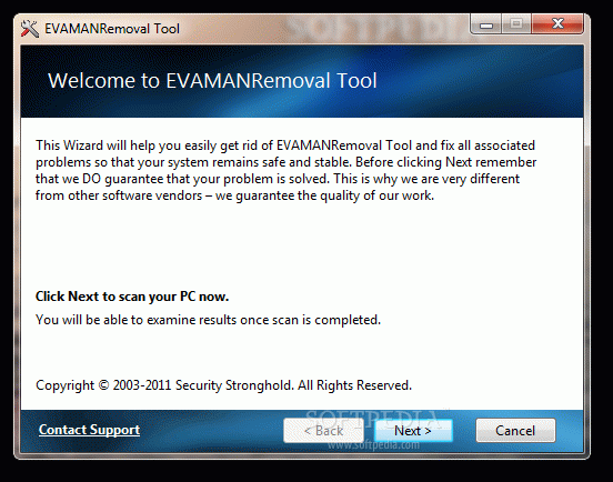 EVAMAN Removal Tool Activation Code Full Version