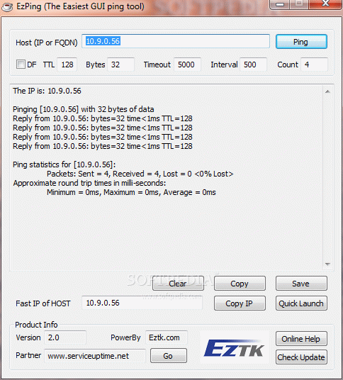EzPing + Crack Keygen Serial Download