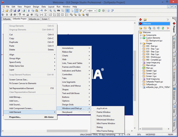Gui design: free download gui design studio.