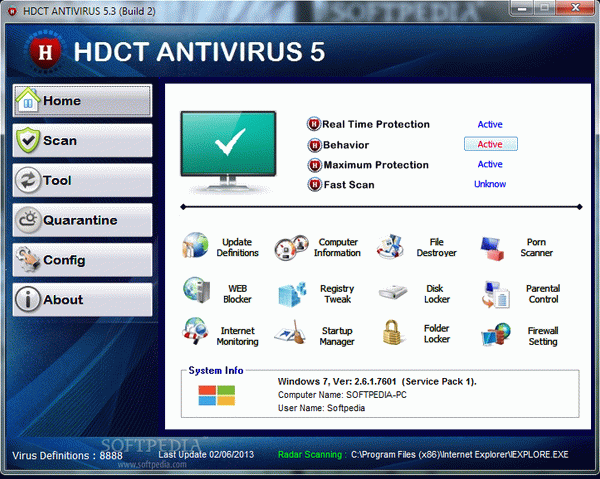 HDCT ANTIVIRUS Crack With Activation Code