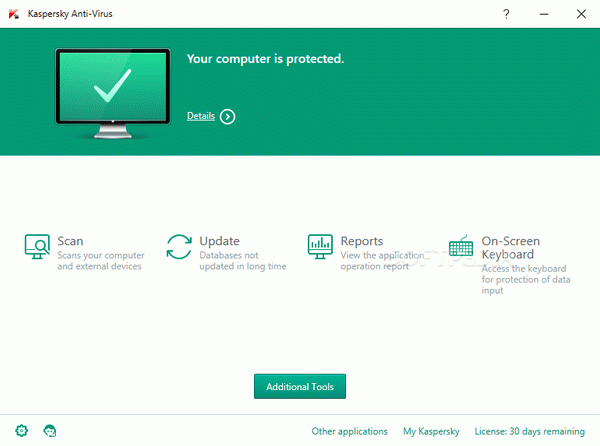 Kaspersky Anti-Virus Crack + Activation Code