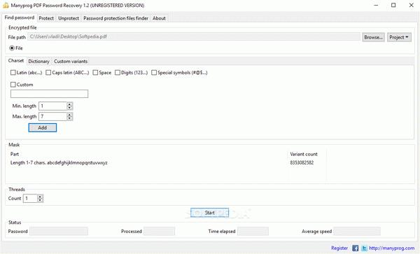 Manyprog PDF Password Recovery + Crack Keygen Serial Download