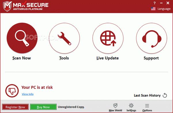 Max Secure Anti Virus Plus + Crack Keygen Serial Download