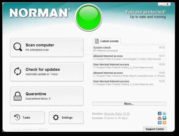 Norman Security Suite PRO [DISCOUNT: 15% OFF]