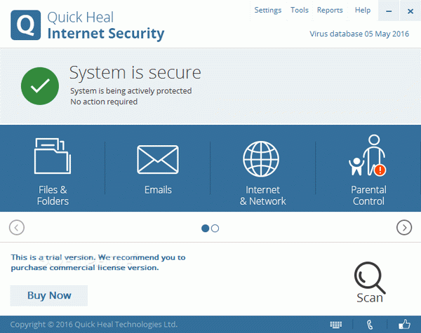 Quick Heal Internet Security Crack + License Key Download 2020