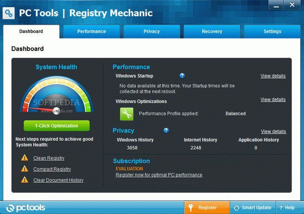 Registry Mechanic 6.2 (7 Downloads Available)
