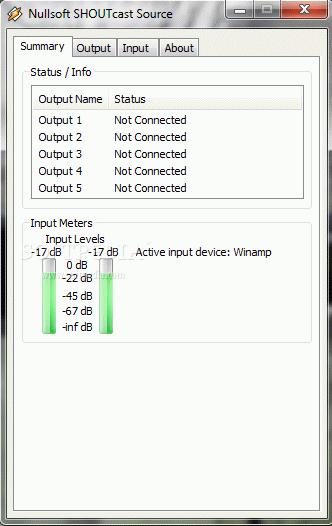 V1.9.0 TÉLÉCHARGER DSP NULLSOFT SOURCE SHOUTCAST