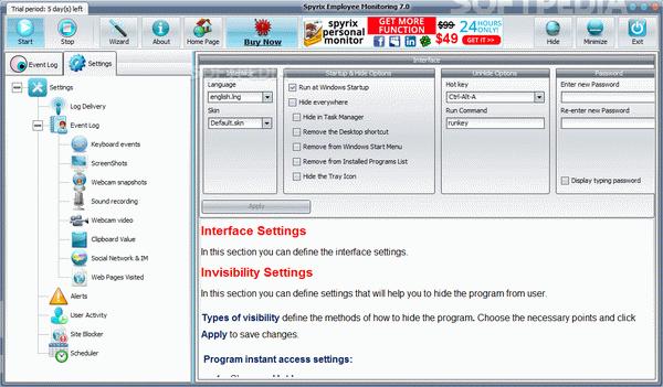 Spyrix Employee Monitoring + Crack Keygen Serial Download