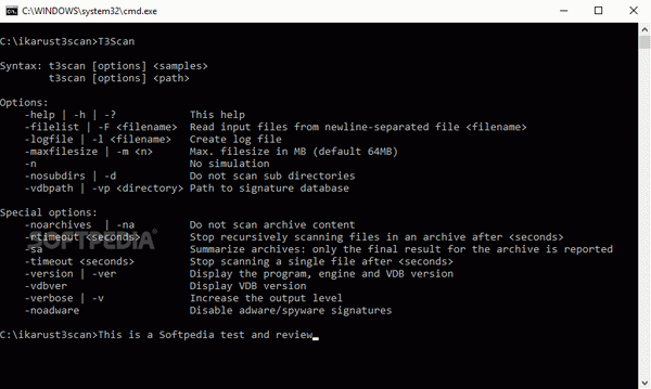 T3 Commandline Scanner Crack + Serial Key (Updated)