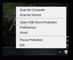 USB Worm Protection