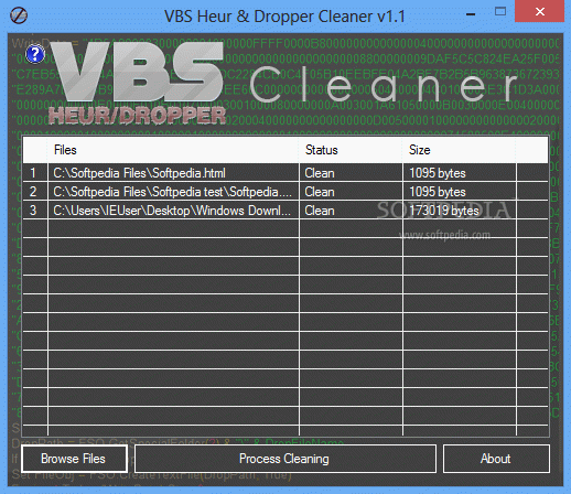 VBS Heur & Dropper Cleaner