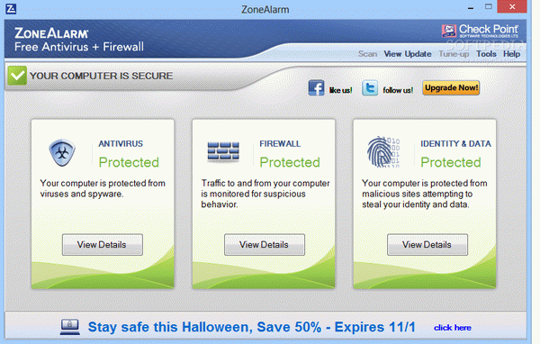 ZoneAlarm Free Antivirus + Firewall Crack + Serial Number Download