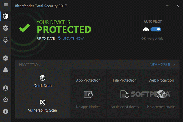 Bitdefender Total Security 2018 Crack + Keygen