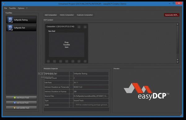easyDCP Creator + Crack Keygen Serial Download