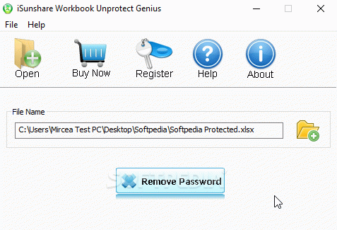iSunshare Workbook Unprotect Genius Crack With Activation Code