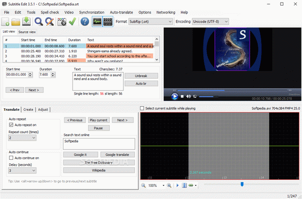 Subtitle Edit Crack With Keygen Latest