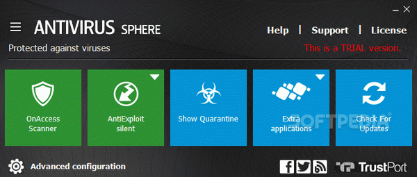 Trustport Antivirus for Servers Sphere Serial Number Full Version