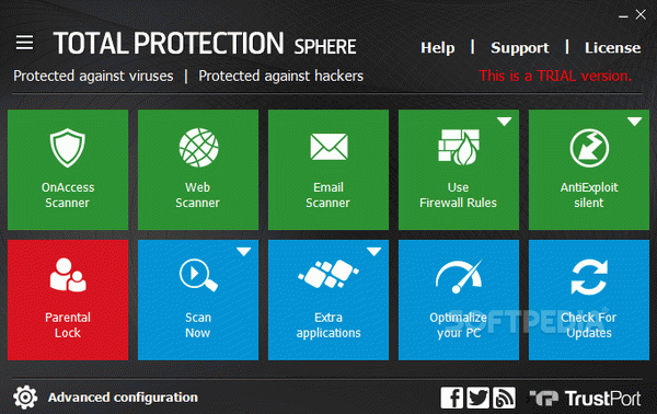 TrustPort Total Protection Sphere Crack With Activation Code 2020